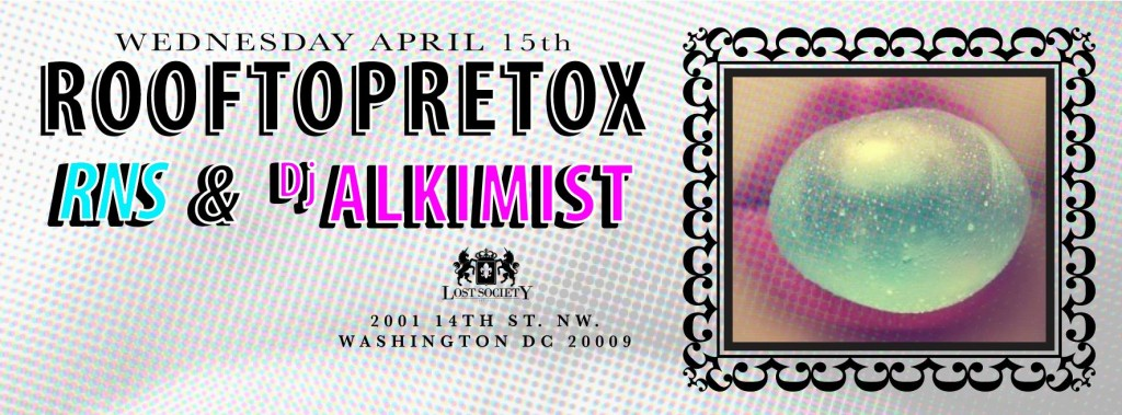 RooftopRetox and Deep House with RNS & Alkimist at Lost Society