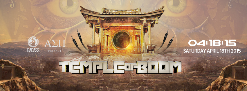 B.A.D.A.S.S. Raves presents Temple of Boom DC