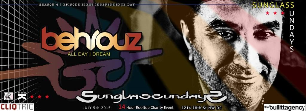 Sunglass Sundays with Behrouz [ All Day I Dream ] at Public Bar