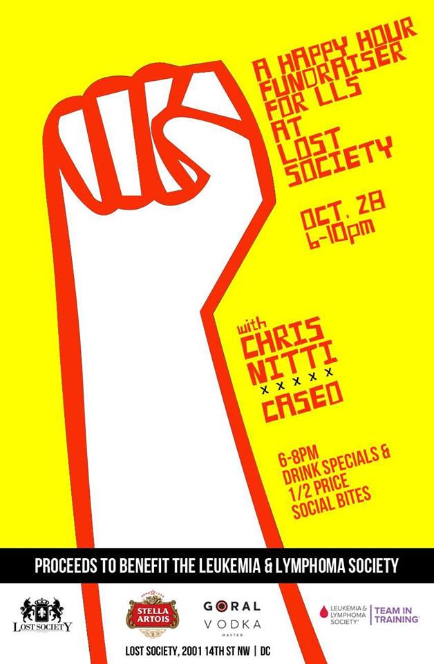 Happy Hour Fundraiser Event for LLS at Lost Society