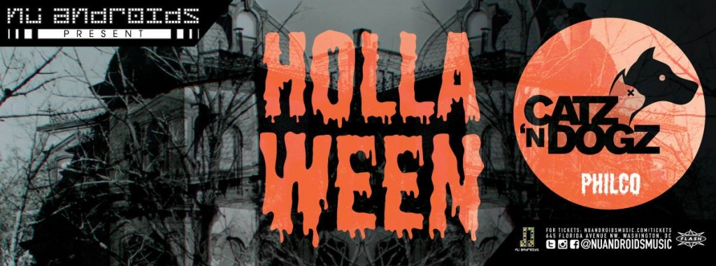 Nu Androids present: Hollaween w/ Catz n Dogz and Philco at Flash
