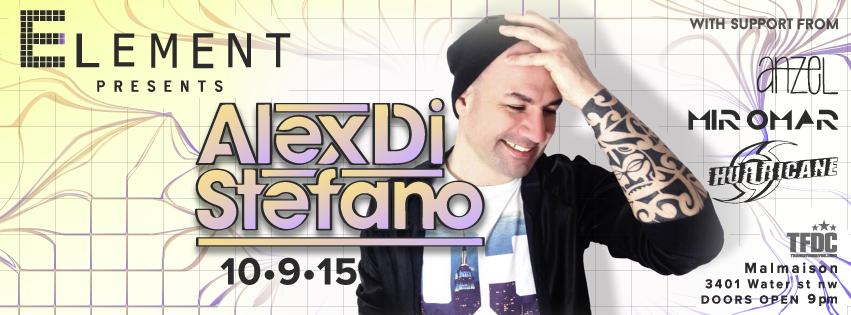 Element presents: Alex Di Stefano - Extended 3 Hour Set at Malmaison
