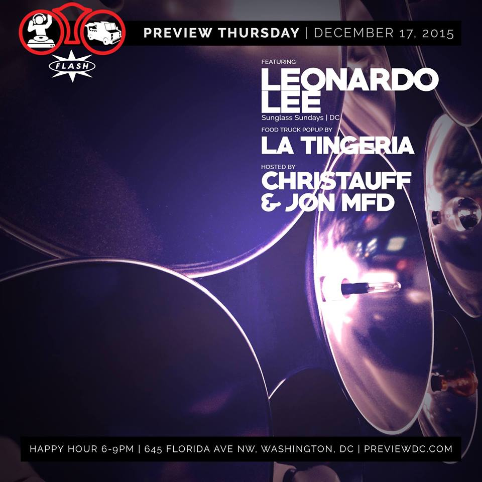 Preview with Leonardo Lee and La Tingeria at Flash