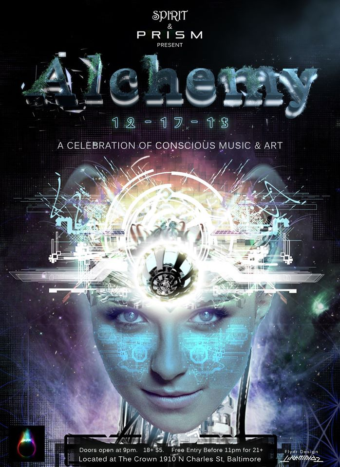 Spirit & PRISM Present: Alchemy at the Crown, Baltimore