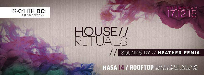 House Rituals with Heather Femia at Masa 14