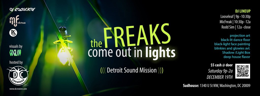 the freaks come out in lights