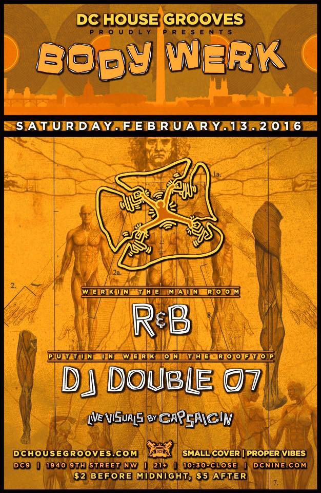 Body Werk dc9 Feb