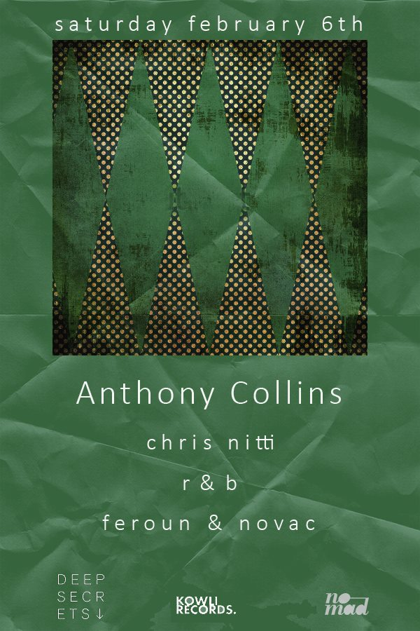 Kowli & Midnight Project Present Anthony Collins, Chris Nitti & R&B at Secret Location, Baltimore