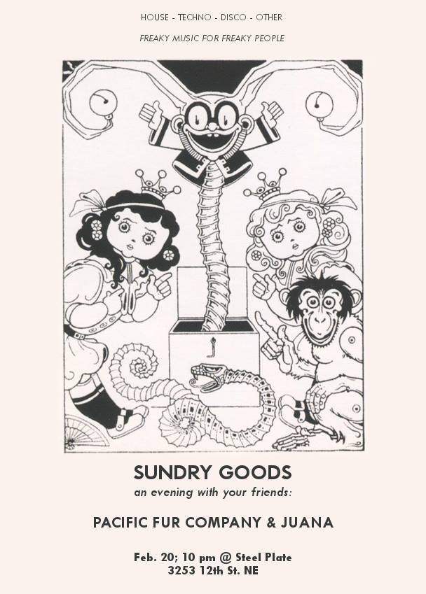 Sundry Goods with Pacific Fur Company and Juana at Steel Plate