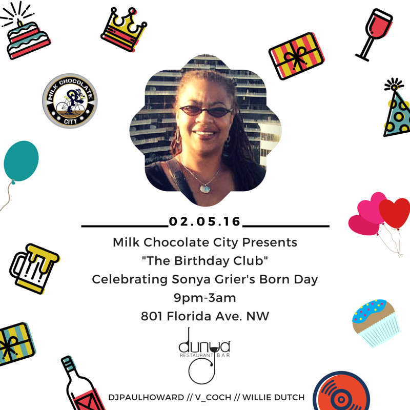 The Birthday Club feat. V-Coch at Dunya