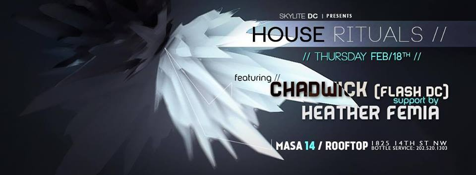 house rituals with chadwick