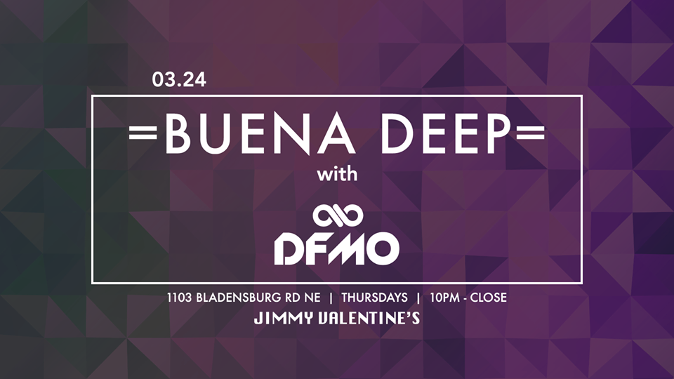 Buena Deep with DFMO at Jimmy Valentine's Lonely Hearts Club
