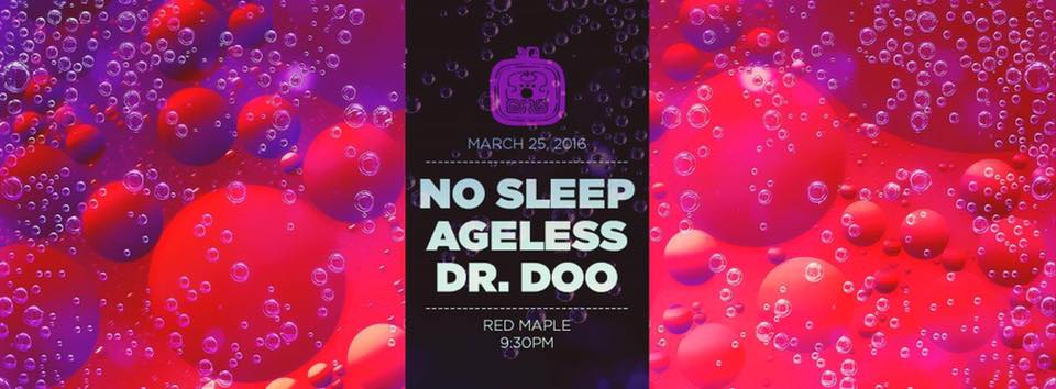 Bass Tribe Baltimore with No Sleep, Ageless & Dr. Doo at The Red Maple