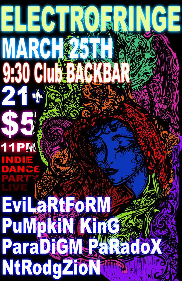 Live Electronic Music at 9:30 Club Back Bar