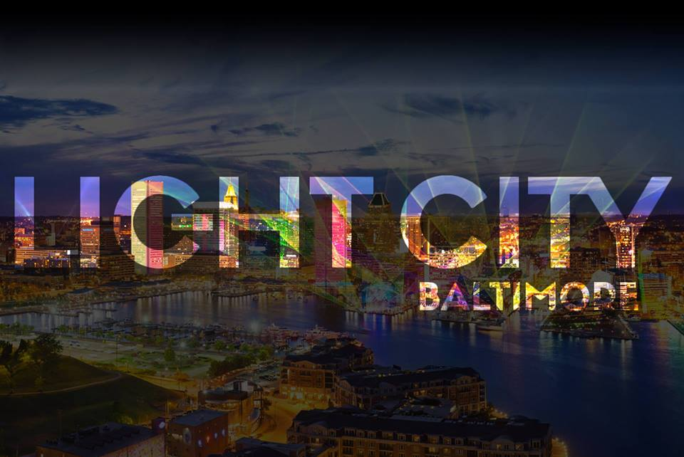 Light City with Deltanine, DJ Who and Dan Deacon at West Shore Park, Inner Harbor, Baltimore