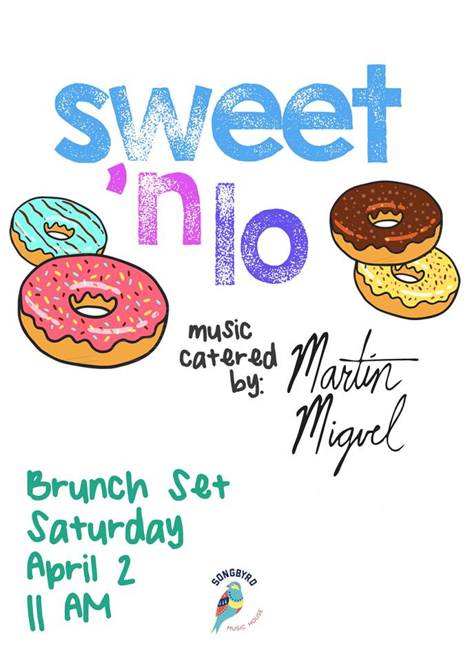 Sweet 'n Lo Brunch w/ DJ Martín Miguel at Songbyrd Music House and Record Cafe