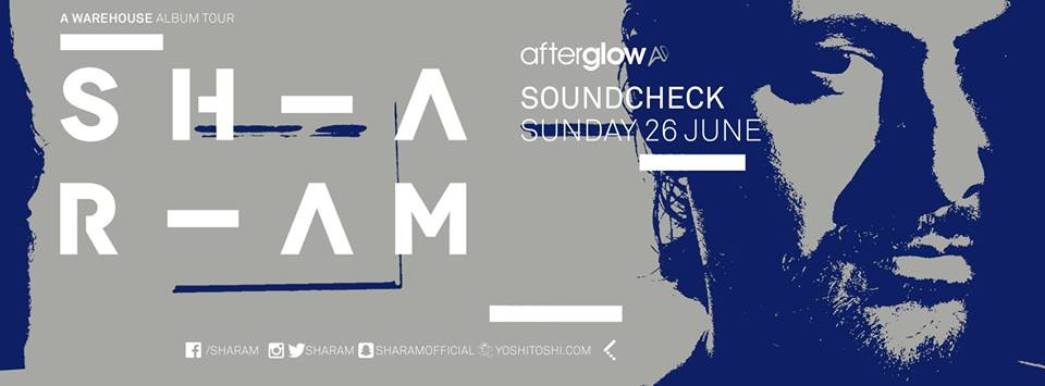 Sharam at Soundcheck
