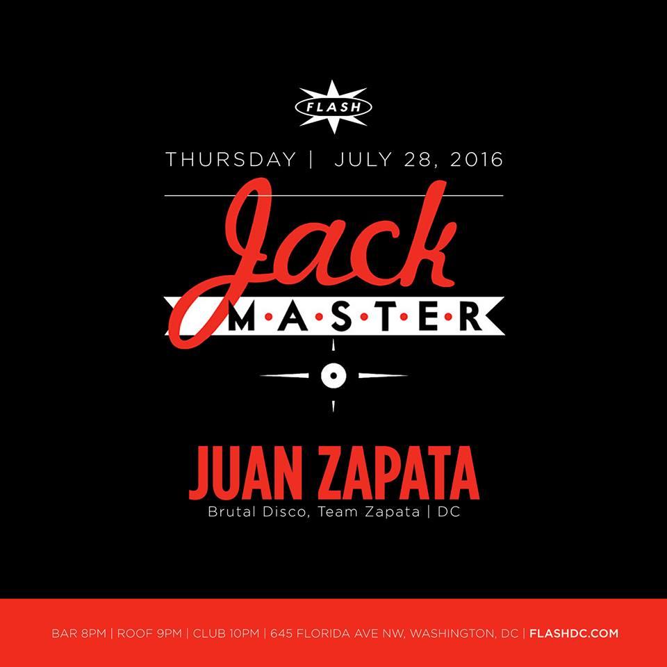 Jackmaster and Juan Zapata at Flash