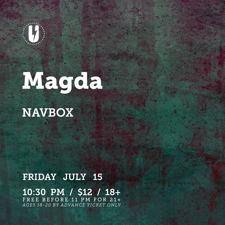 Magda with Navbox at U Street Music Hall