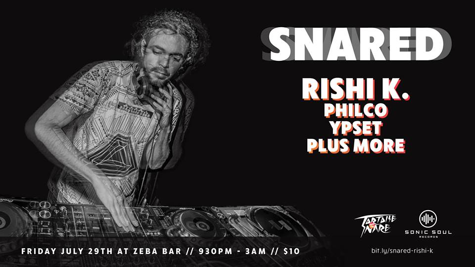 Snared: Rishi K. with Philco, Ypset, Plus More at Zeba Bar