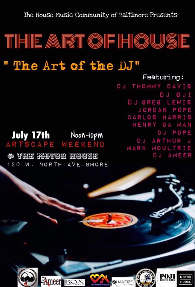 The Art of House at The Motor House, Baltimore