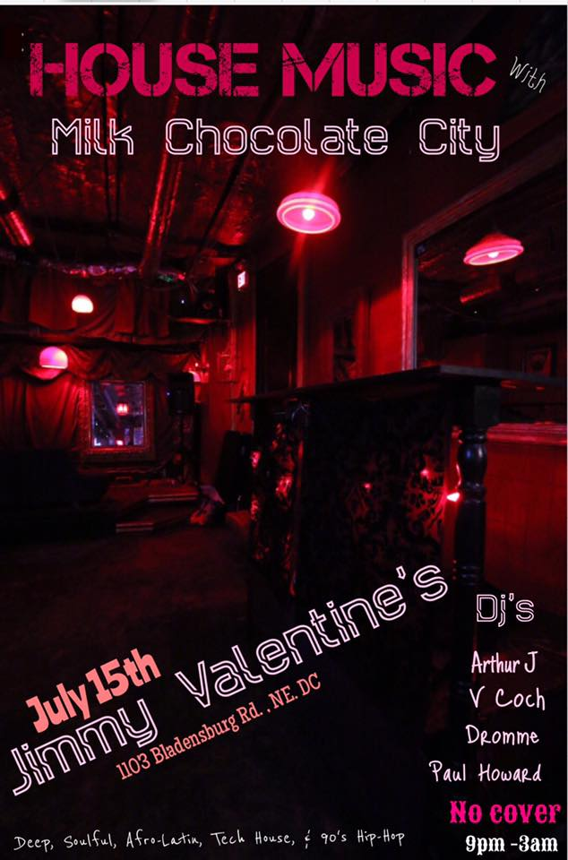 House Music with Arthur J, V Coch, Dromm & Paul Howard at Jimmy Valentine's Lonely Hearts Club