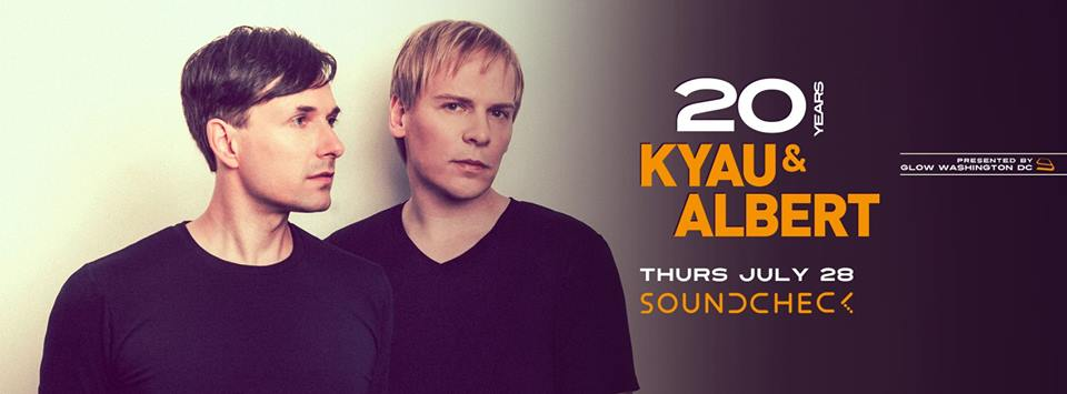 Kyau & Albert at Soundcheck