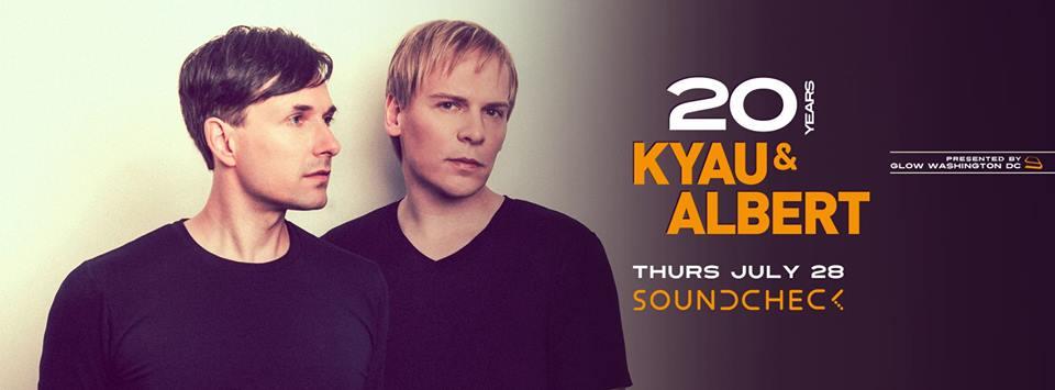 Kyau & Albert at Soundcheck