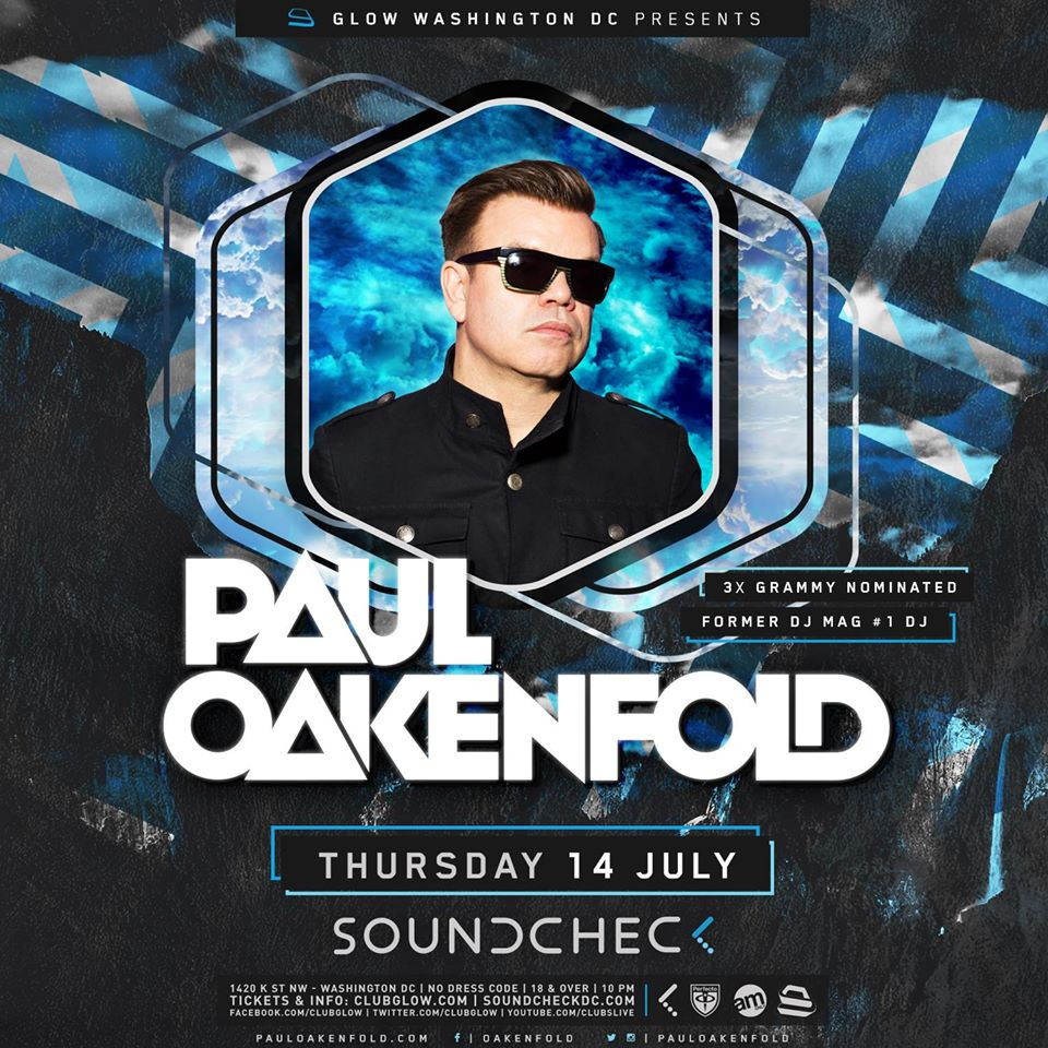 Paul Oakenfold at Soundcheck