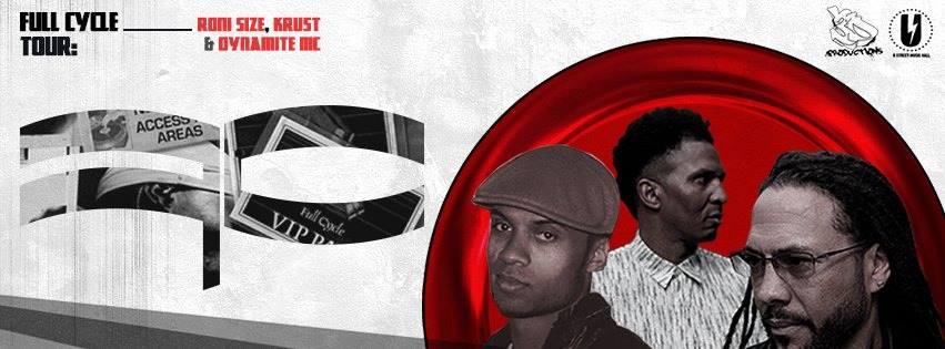 Roni Size, Krust & Dynamite MC at U Street Music Hall