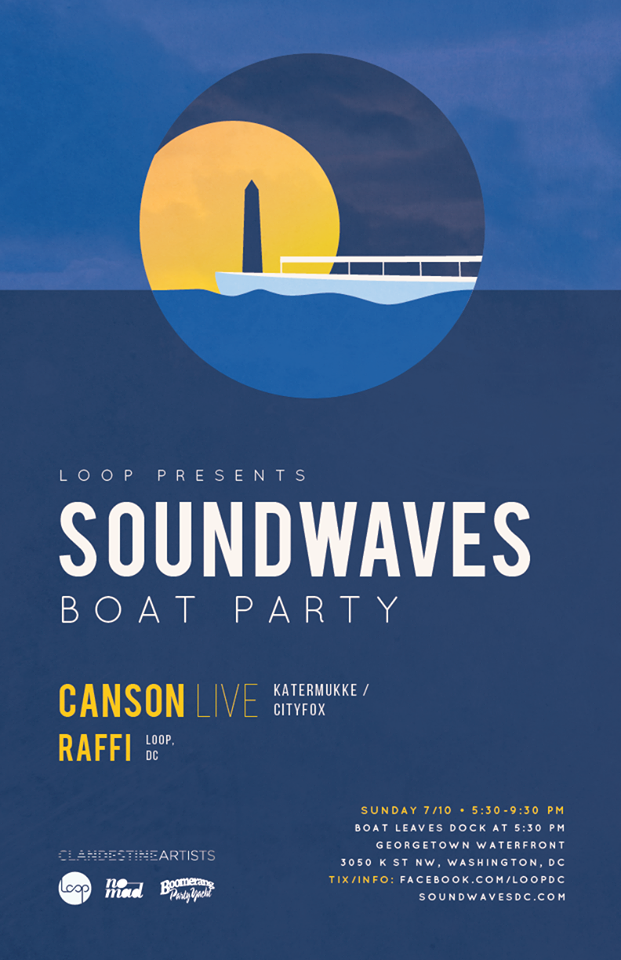Soundwaves Boat Party with Canson & Raffi