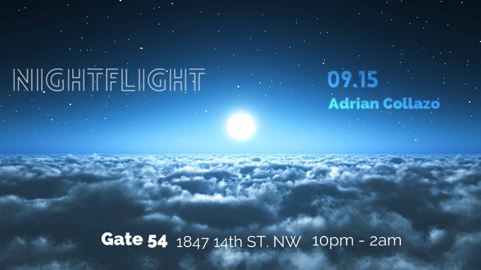 NightFlight with Adrian Collazo at Cafe Saint Ex