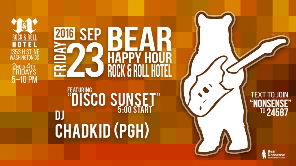 Bear Happy Hour with ChadKid (PGH) at Rock and Roll Hotel