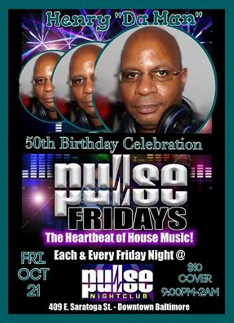 Pulse Special Guest H'dm and DJ Biskit at Pulse Nightclub, Baltimore