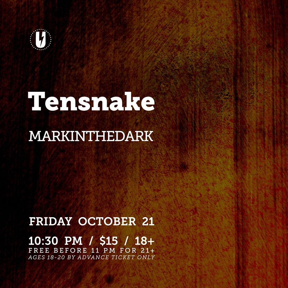 Tensnake with markintheDark at U Street Music Hall