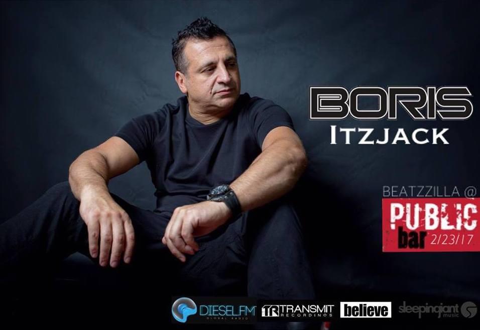 Beatzzilla presents Boris & Itzjack at Public Bar