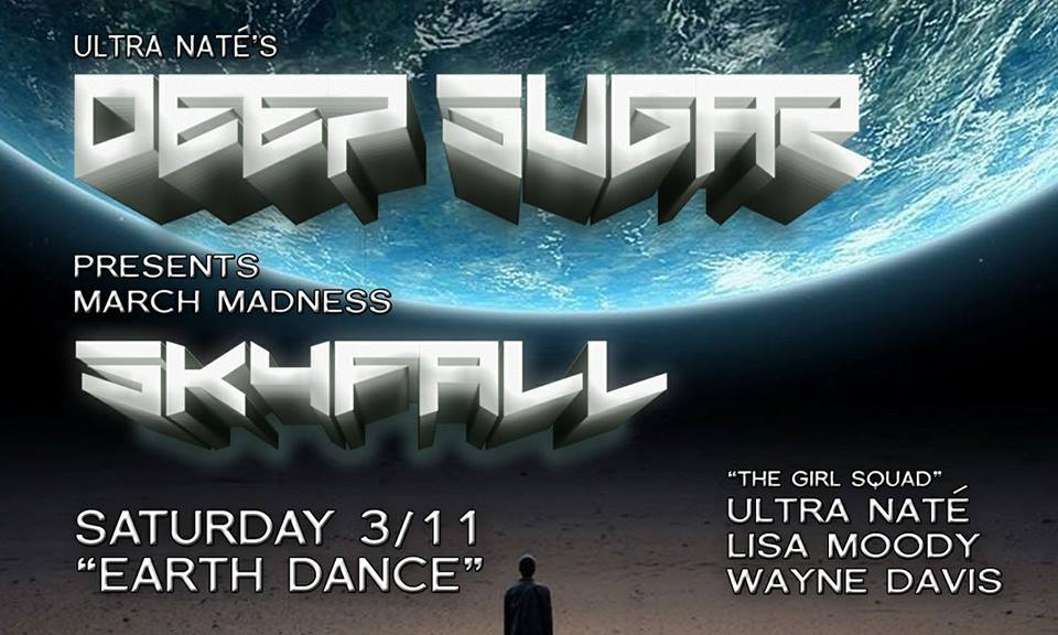 Deep Sugar Skyfall with Ultra Naté, Lisa Moody & Wayne Davis at The Paradox, Baltimore