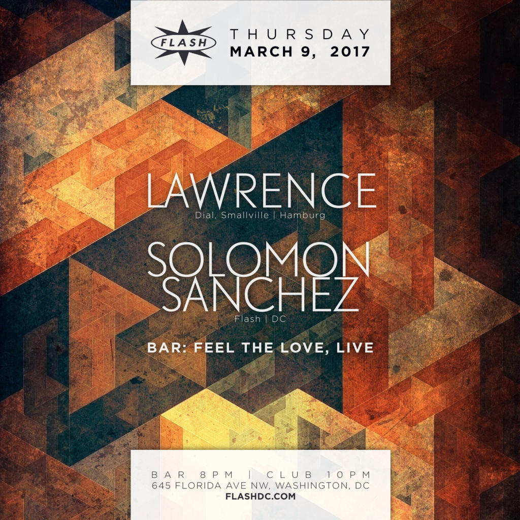 Lawrence wth Solomon Sanchez at Flash