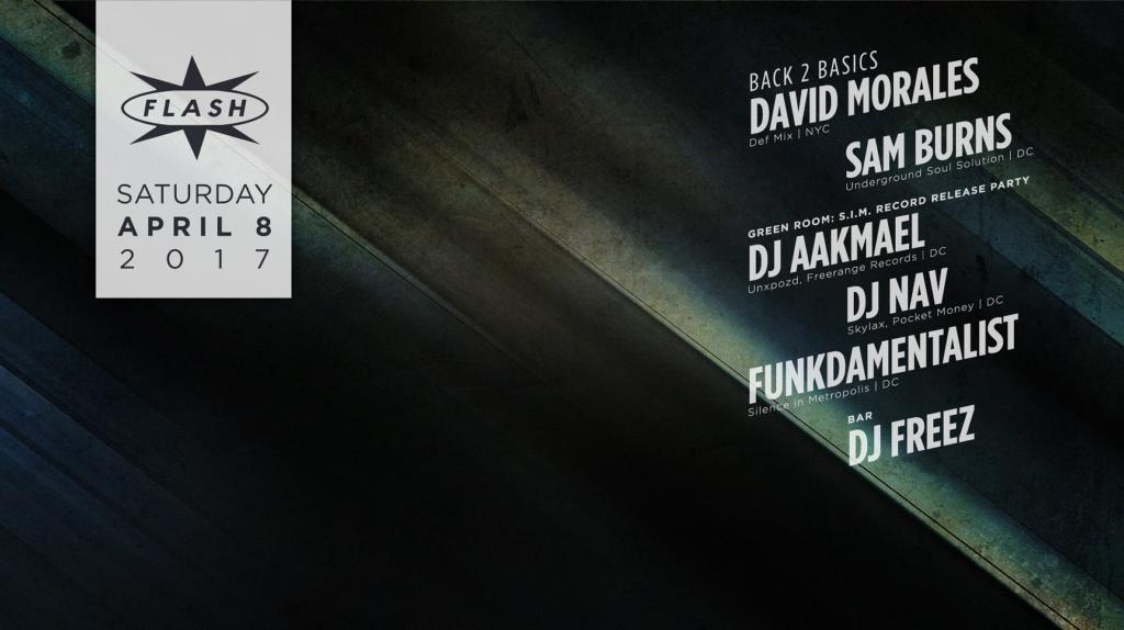 Back 2 Basics: David Morales & Sam 'The Man' Burns at Flash