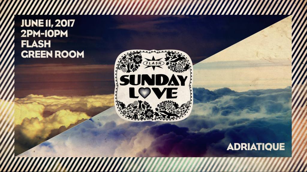 Sunday Love: Adriatique with Sarah Myers and Edo at Flash
