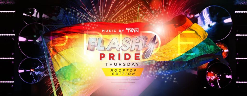 Flashy Pride Thursday: Rooftop Edition with DJ TWiN at Flash