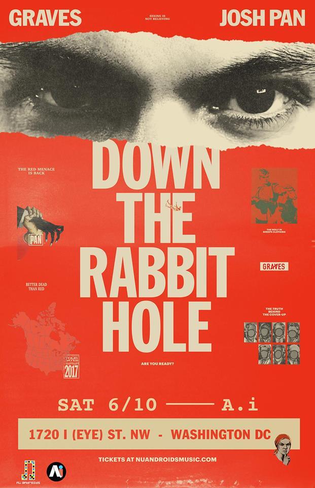 Graves and Josh Pan Down the Rabbit Hole with Indignis & Seba Yuri at A.i.