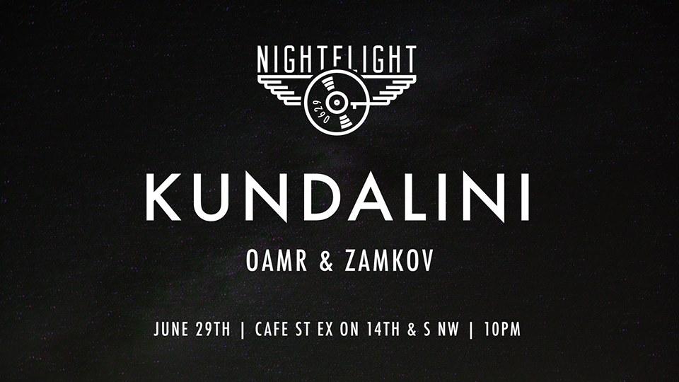 NightFlight with Kundalini at Cafe Saint Ex