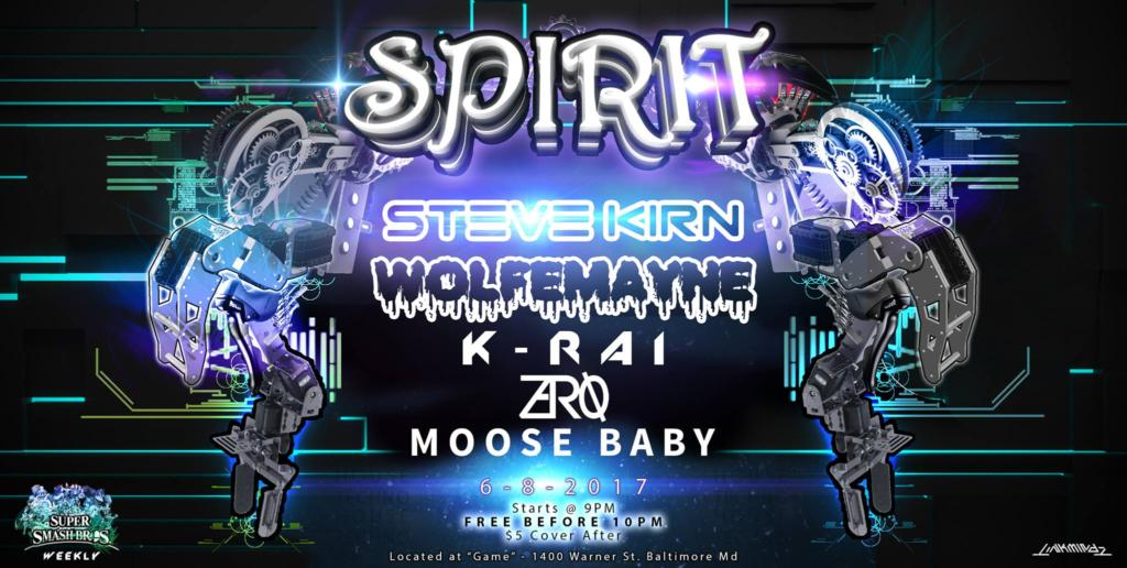 Spirit Featuring Steve Kirn at Game, Baltimore