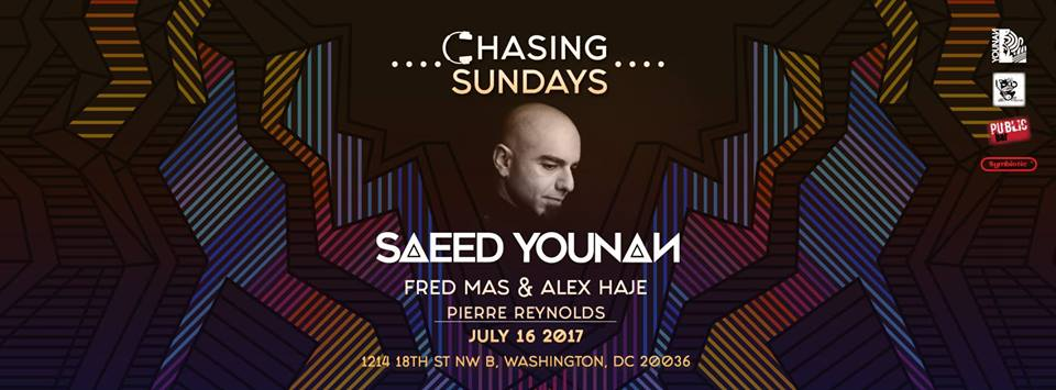 Chasing Sundays with Saeed Younan, Fred Mas, Alex Haje & Pierre Reynolds at Public Bar