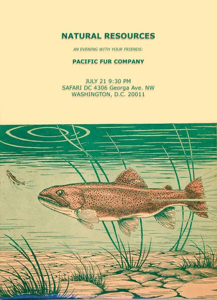 Natural Resources with Pacific Fur Company at Safari Restaurant & Lounge
