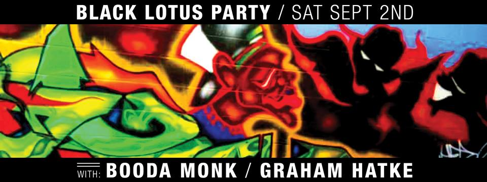 Black Lotus Party with Booda Monk & Graham Hatke at The Crown, Baltimore