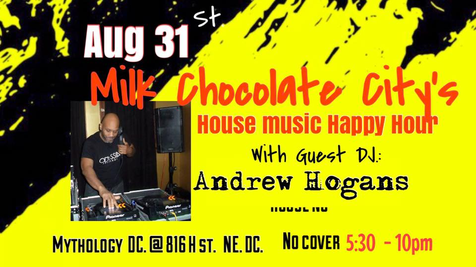 House Music Happy Hour with Andrew Hogans at Mythology Restaurant & Lounge