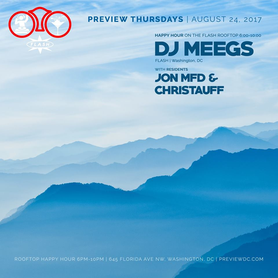 Preview Rooftop Happy Hour ft. DJ Meegs