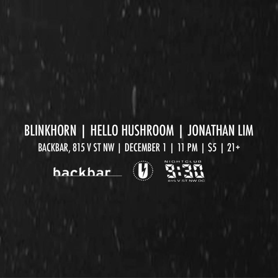 linkhorn, Hello Hushroom, Jonathan Lim at Backbar